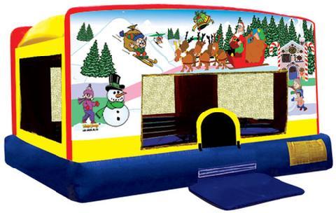 Christmas Theme Bouncer
