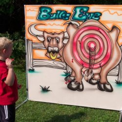 Western bull game
