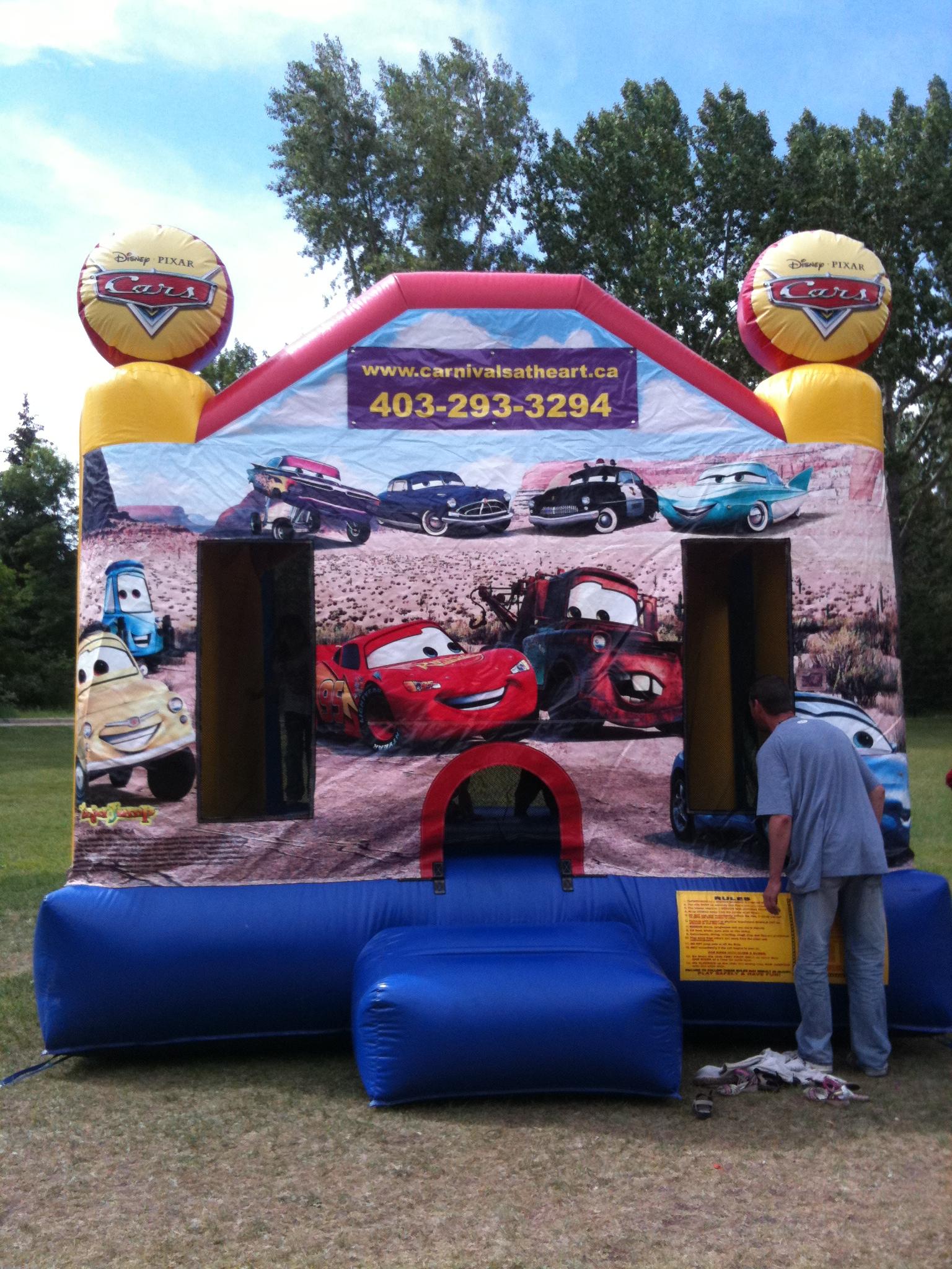Calgary Cars Bounce House