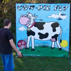 Cow pie fling