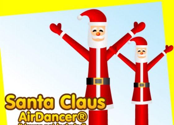Fun Christmas theme air dancer