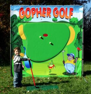Kids golfing game