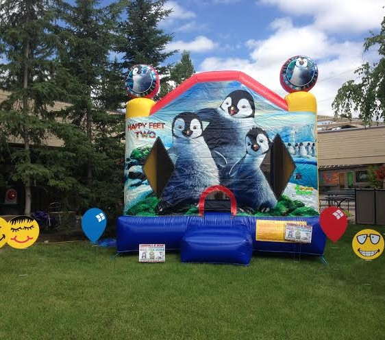 Disney Happy foot Bounce House Rental