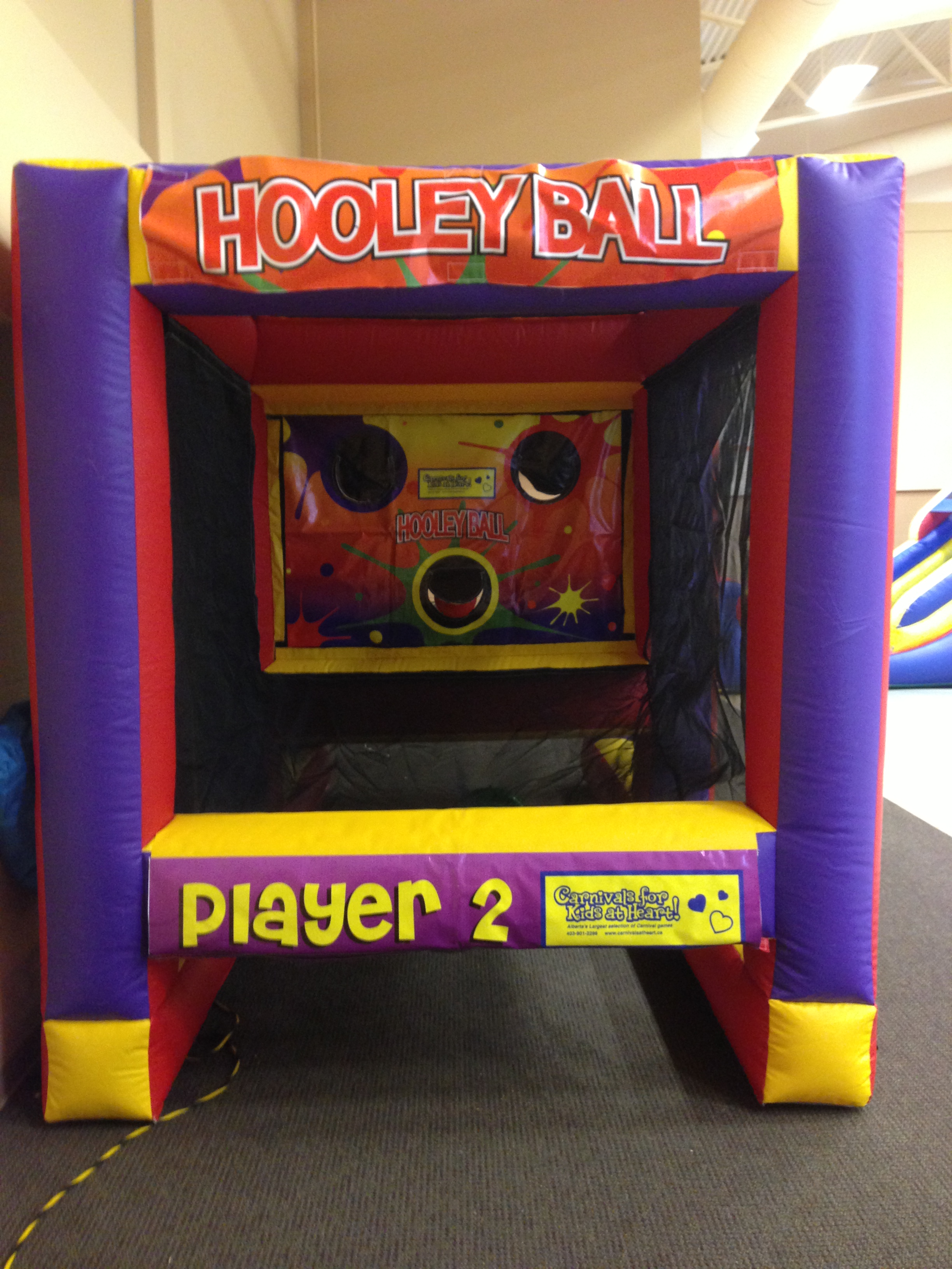 Inflatable Throwing Game