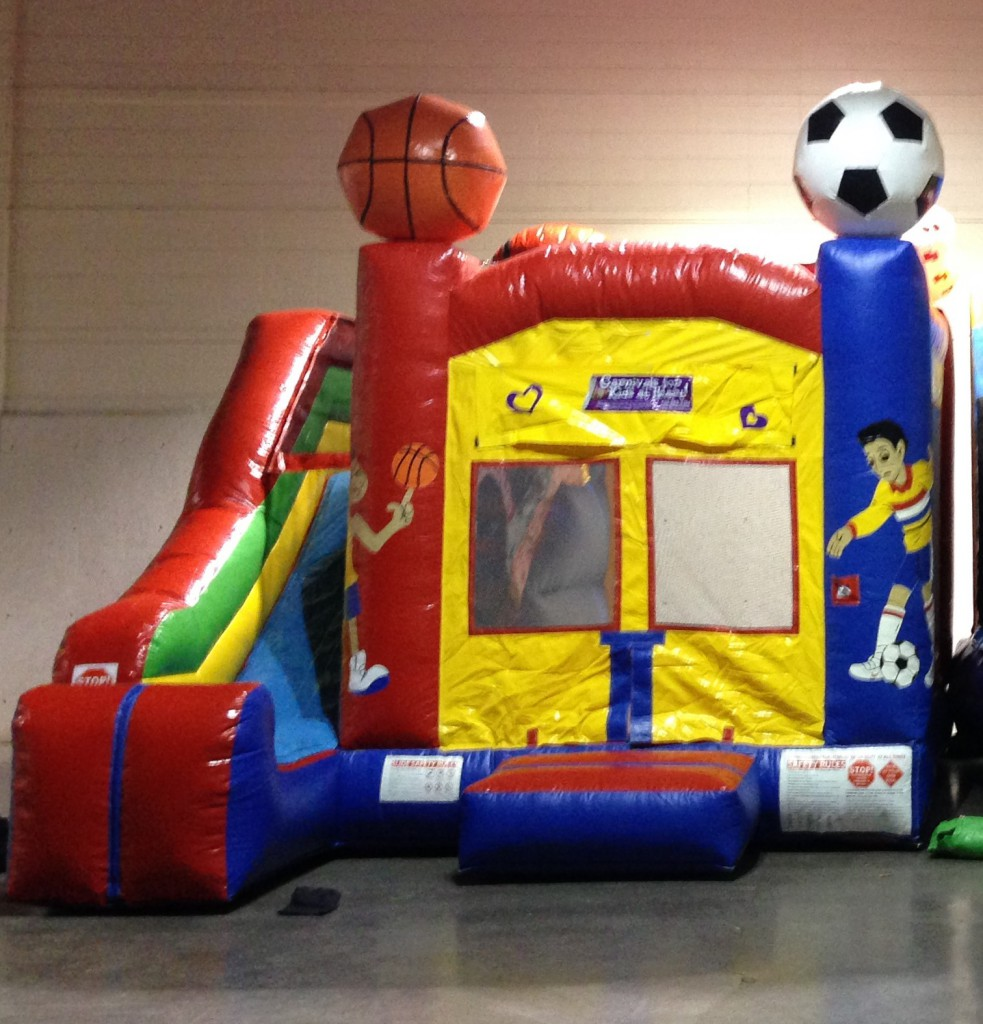 Sporty bouncy house rentals
