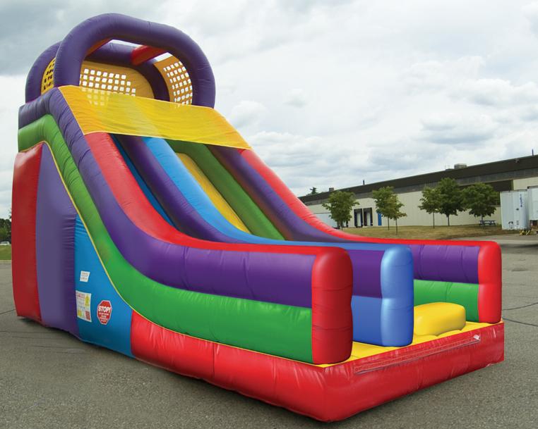 Huge slide rental