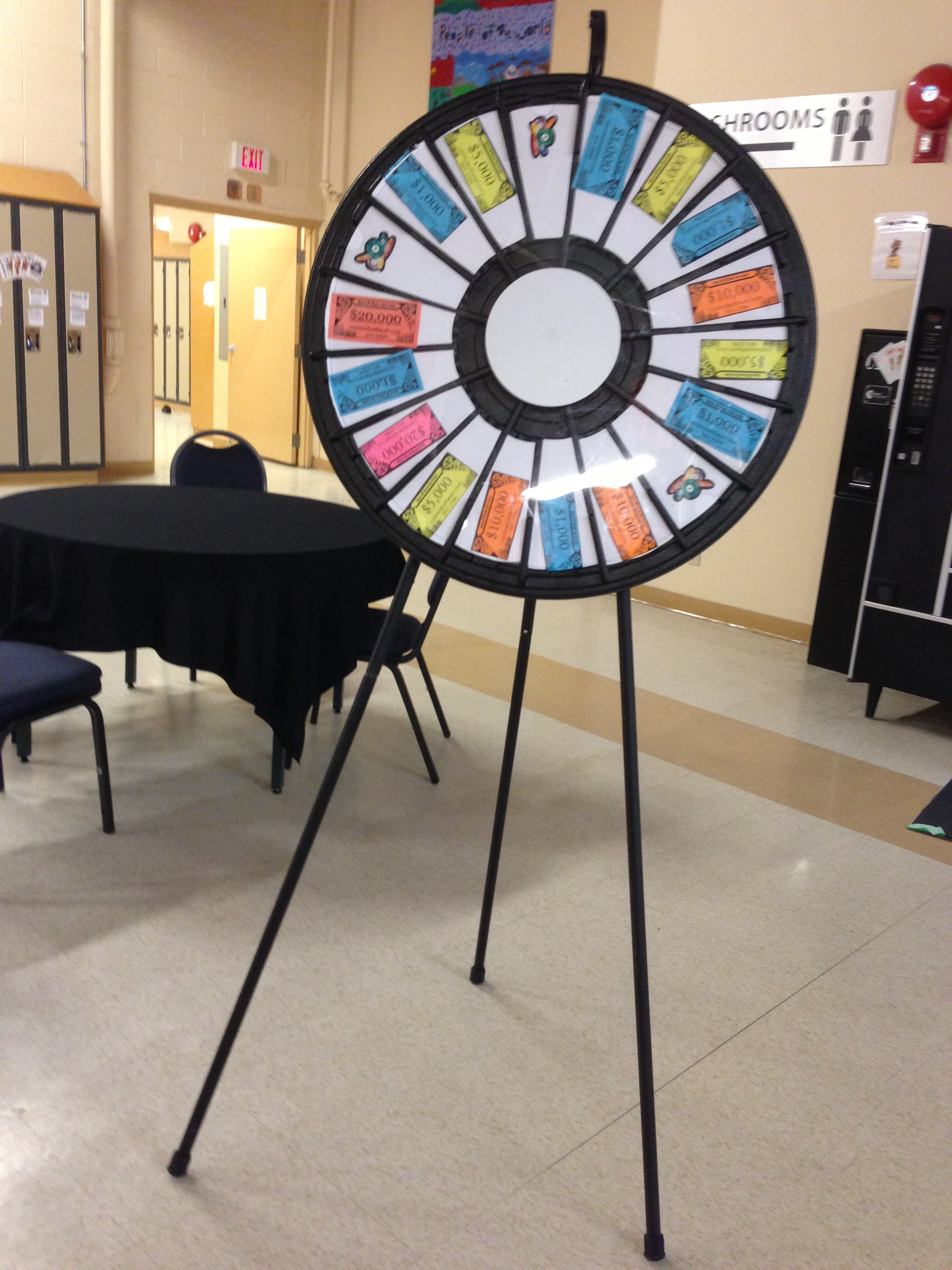 Prize Wheel Carnivals For Kids At Heart