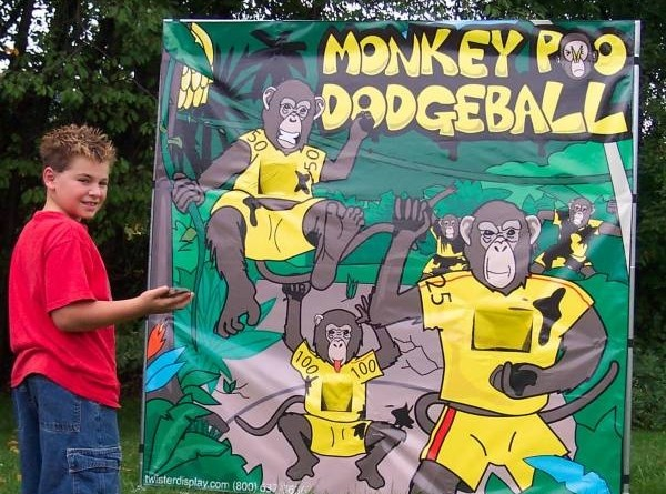Monkey Poo Dodgeball Carnivals For Kids At Heart