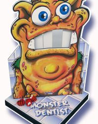 Monster teeth knock out
