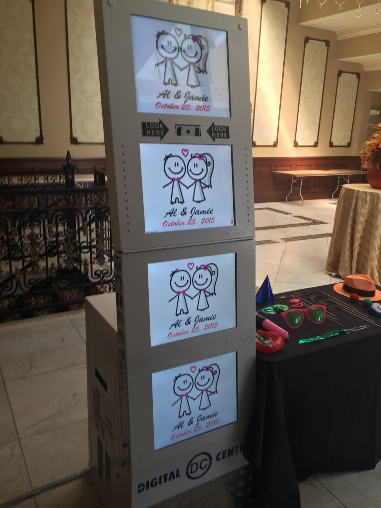 Great Photo booth rentals