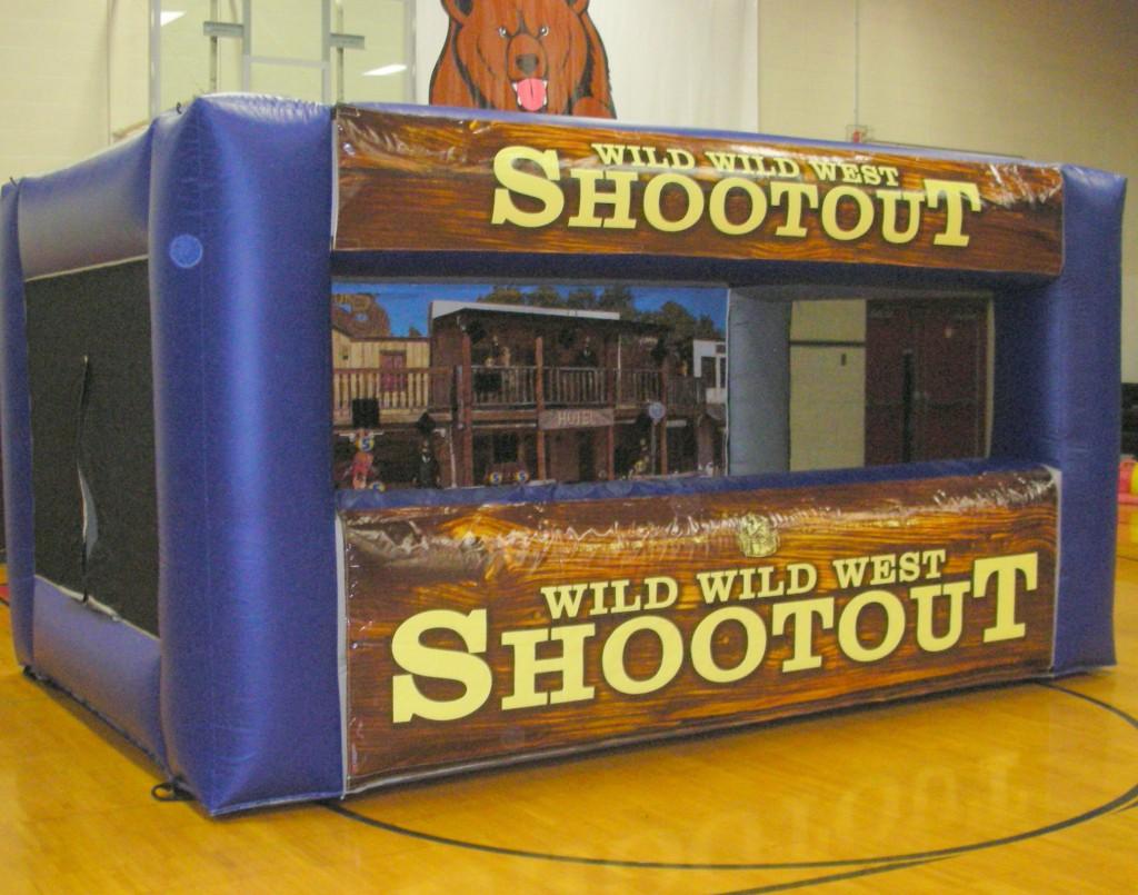 Western shooting game
