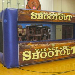 Western shooting game