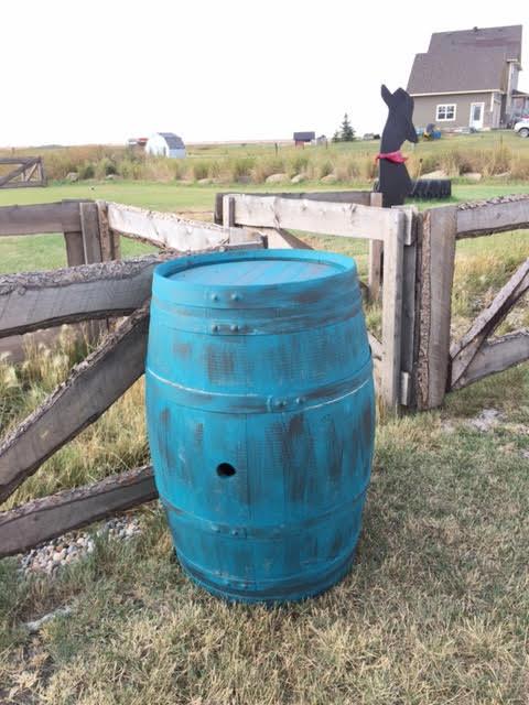 Western Whiskey Barrel