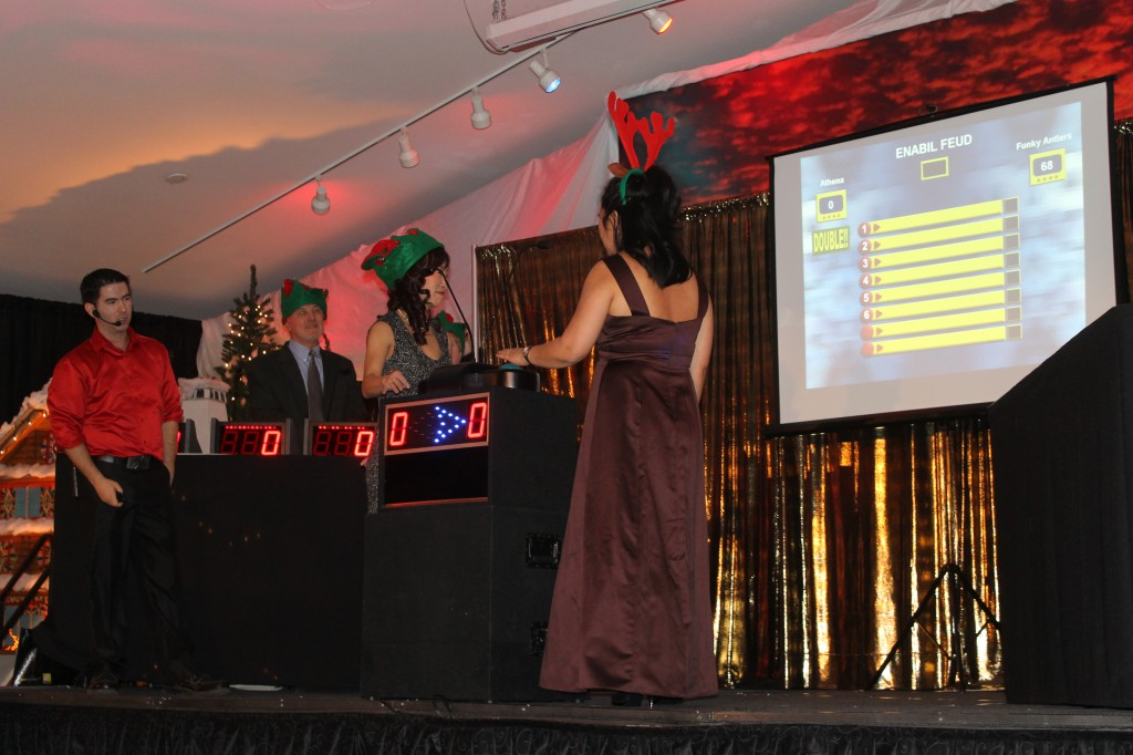 Christmas Theme Game Show