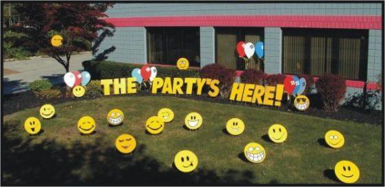 birthday lawn greetings