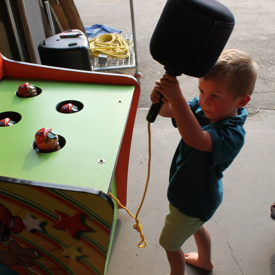 Whack A Mole Carnivals For Kids At Heart