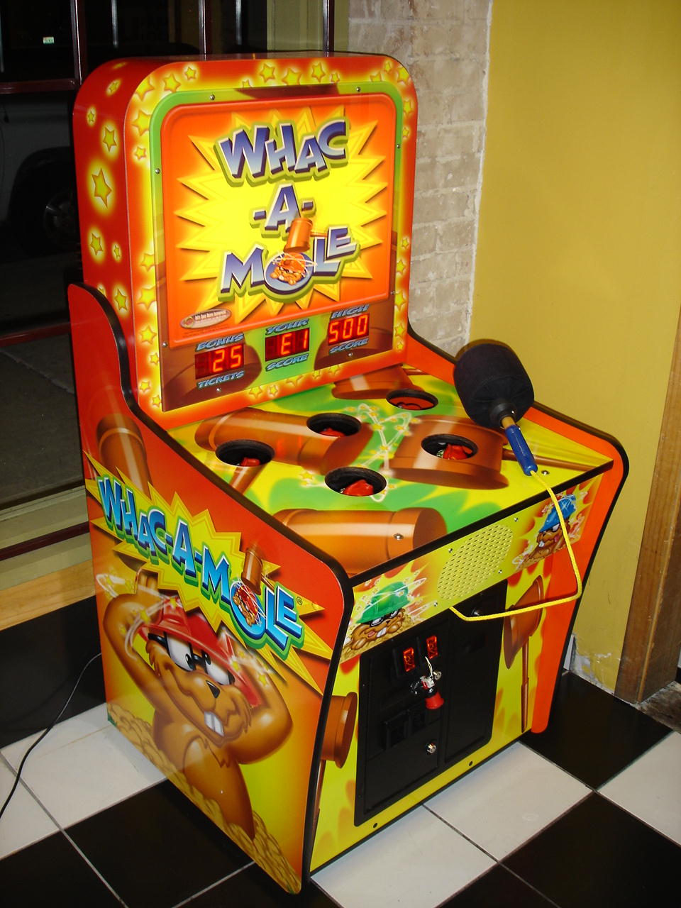 Whack A Mole Gs2041 Carnivals For Kids At Heart