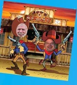 fun western cutout