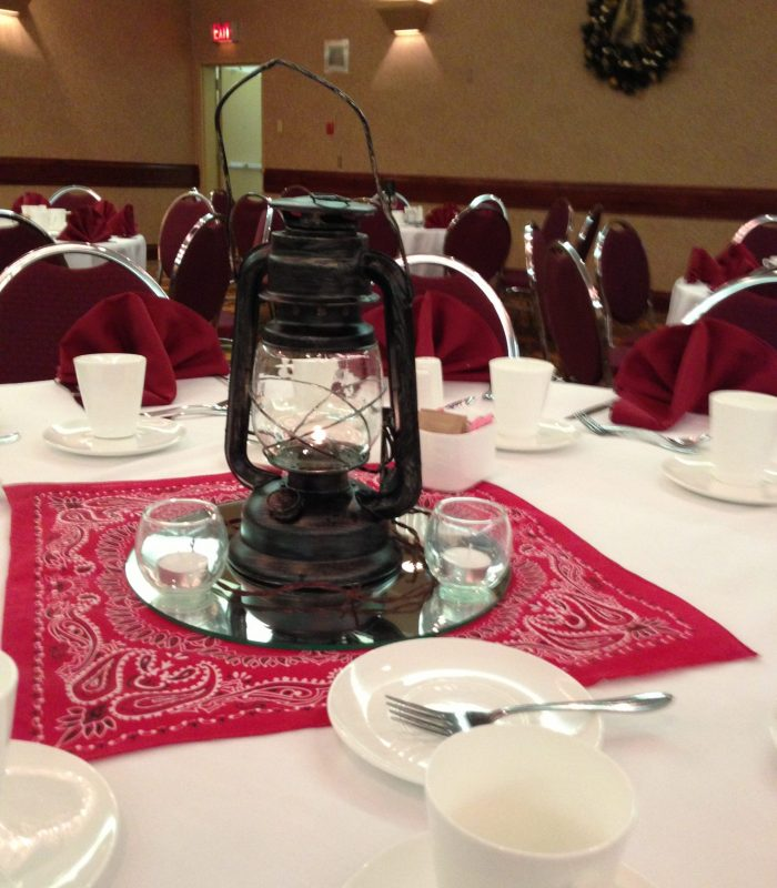 Western Table Decor