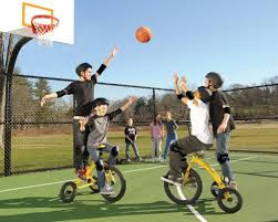 Fun giant tricycles