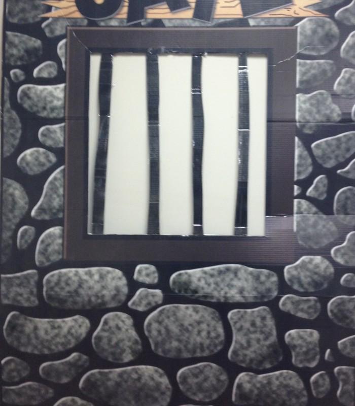 Jail Cell Cutout
