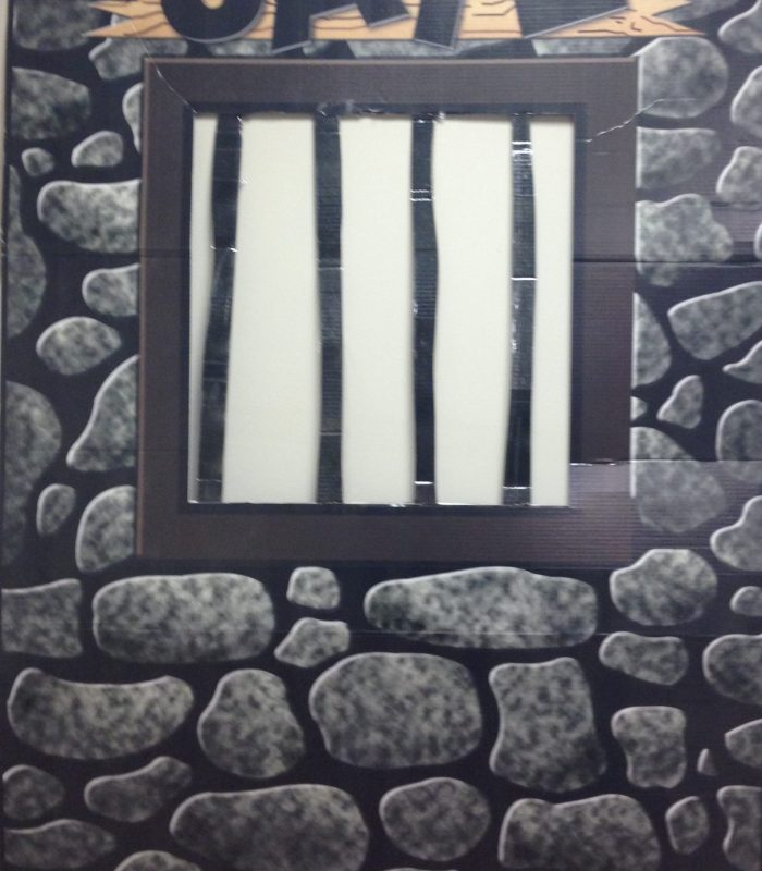 Jail Cell Cutout