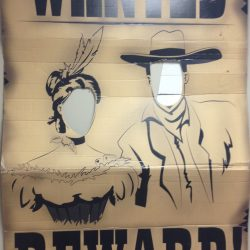 Wanted Couple Cutout