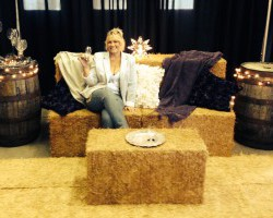 Hay Bale Lounges