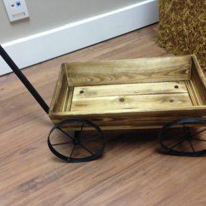 Small Wagon Decor