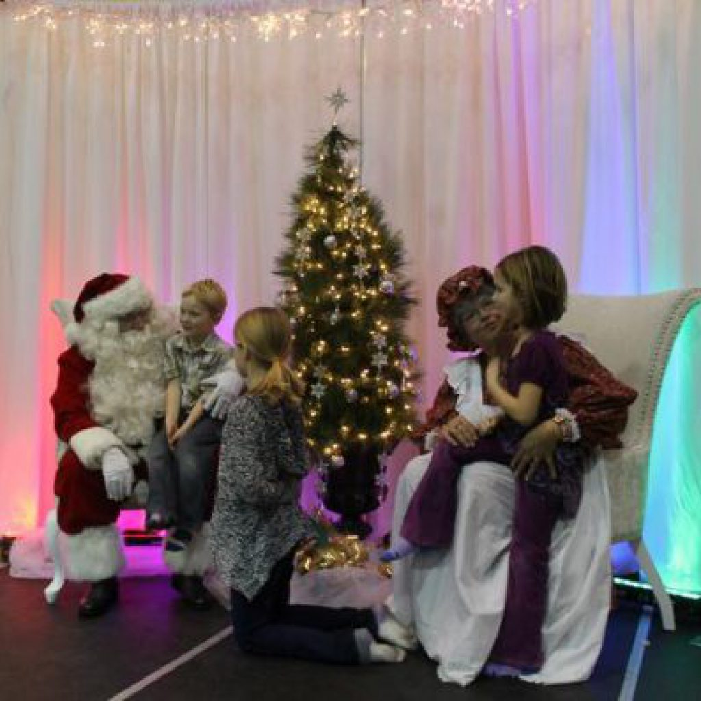 Santa Backdrop rentals