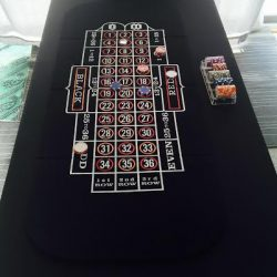 Casino roulette table rental