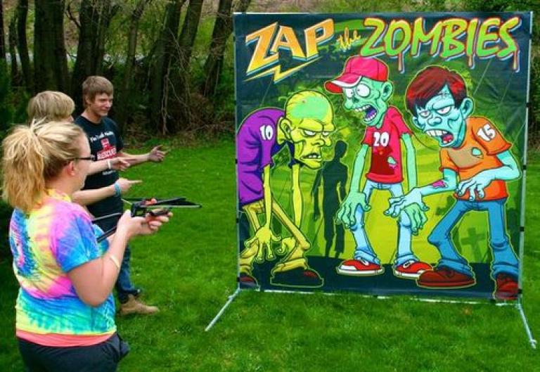 Zombie theme game