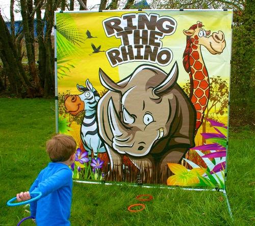 Animal Throwing Game