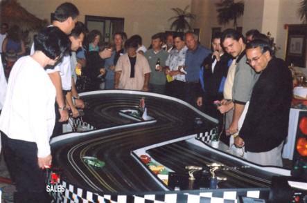 remote control car track