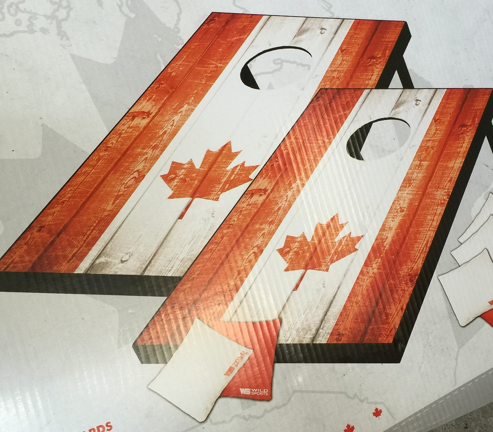 Corn Hole Game Canada Theme Carnivals For Kids At Heart