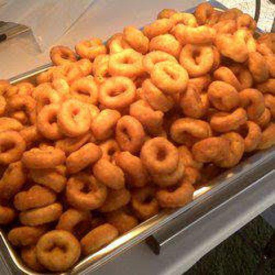 Deep fried donuts