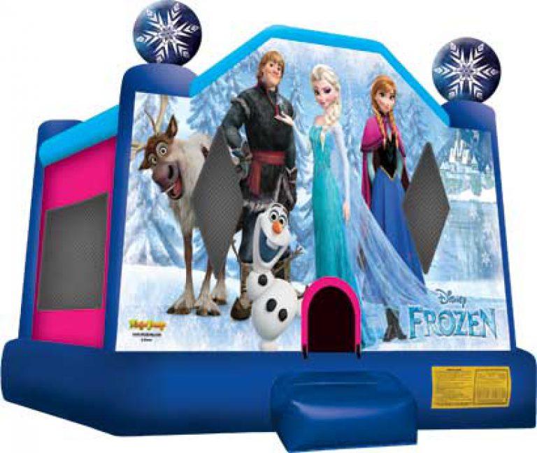 frozen jump house