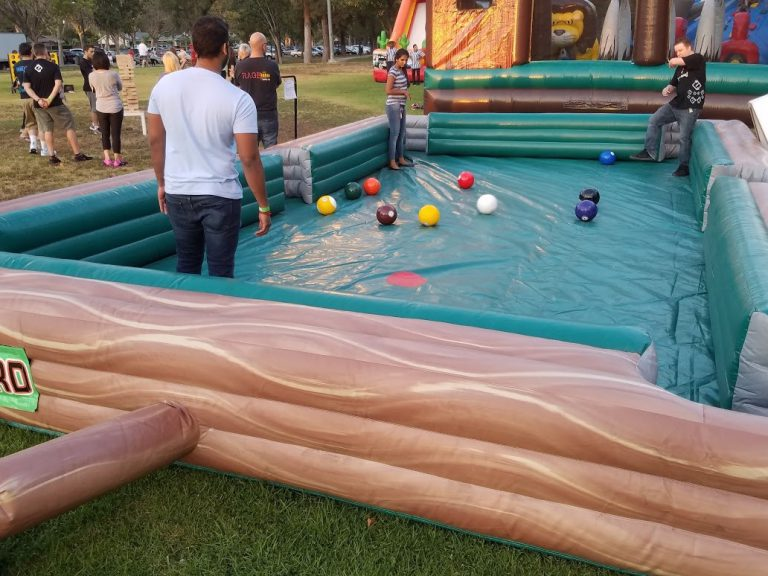 Human Billiards IG Carnivals For Kids At Heart - Human pool table
