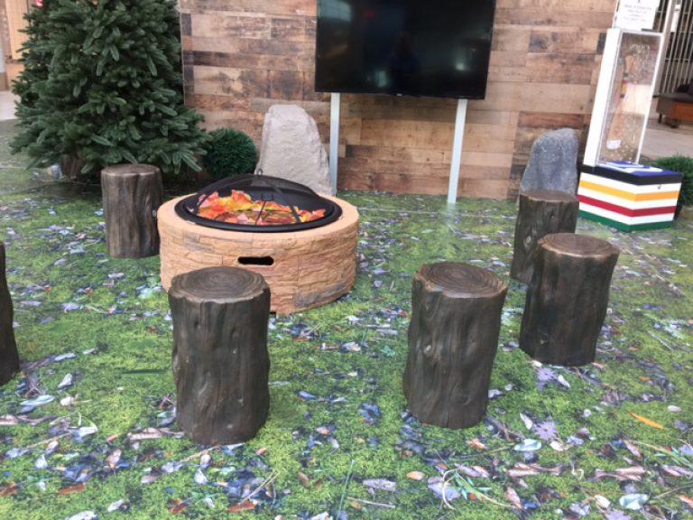 Campfire seats