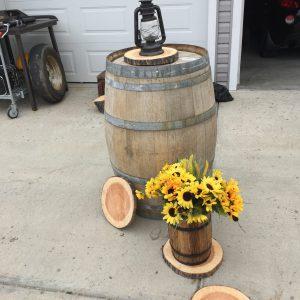 Rustic cut wood