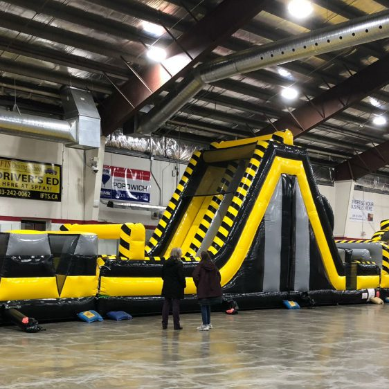 100 Foot Obstacle For Rent
