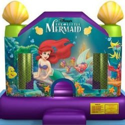 mermaid bounce house