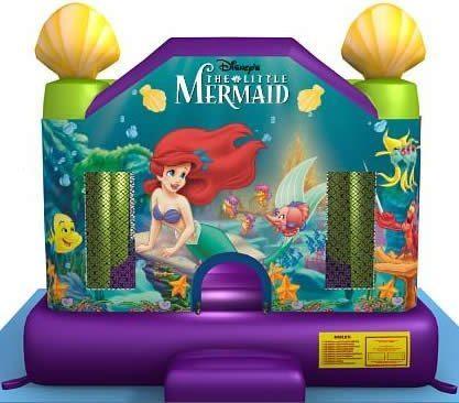 mermaid bounce house