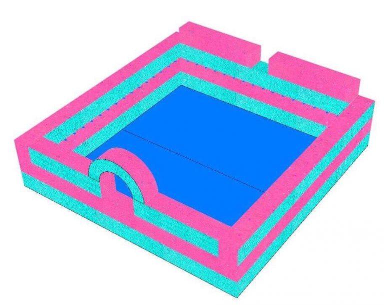 LED foam pit