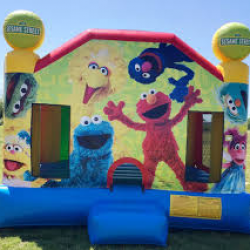 big bird bounce house