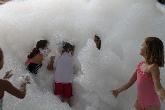 Bubbles = Foam = Fun