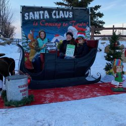 Santa Sleigh rentals Alberta area