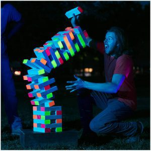 Black Light Giant Jenga