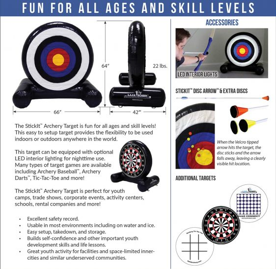 Safety Archery rental in Calgary