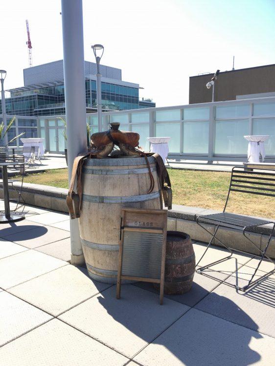 Barrel of weddings